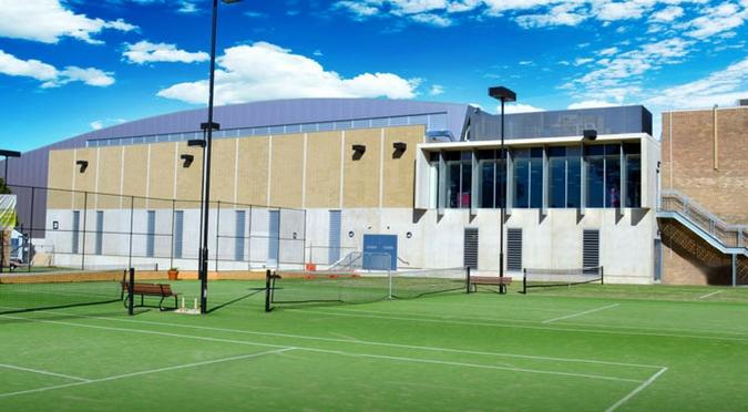 university tennis courts